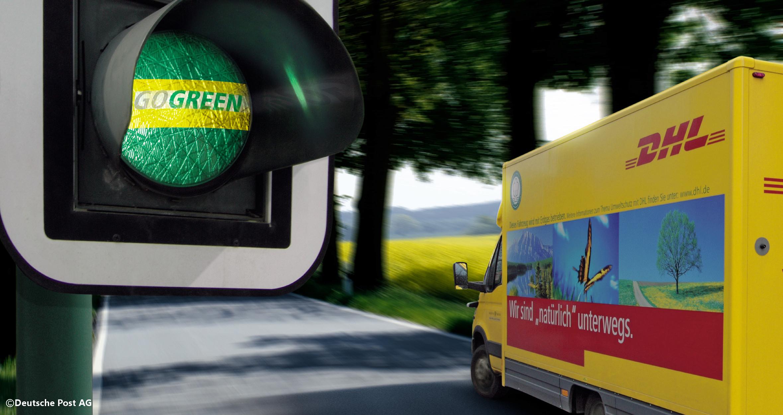 klimaneutraler Versand mit GoGreen von DHL